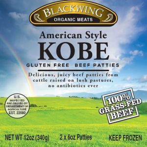 Kobe Beef Burgers 10-2/6oz.