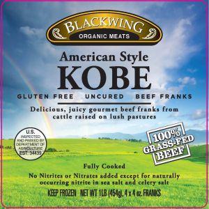 Kobe Grass Fed Beef Franks 10-4/4oz.