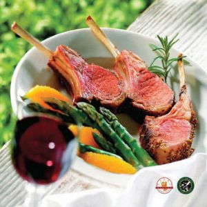 Organic French Cut Lamb Rack (1lb-2lb)