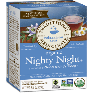 Traditional Medicinals Organic Nighty Night Tea (1 Box of 16 Packets)