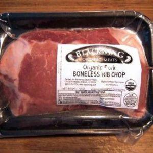 Organic Pork Rib Chop Boneless