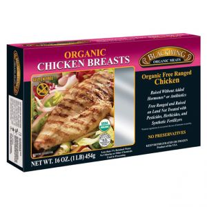 Organic Chicken Breast Skinless/Boneless 10lb. Catch Weight