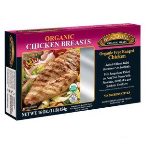 Organic Chicken Breast Skinless/Boneless 10/1lb.