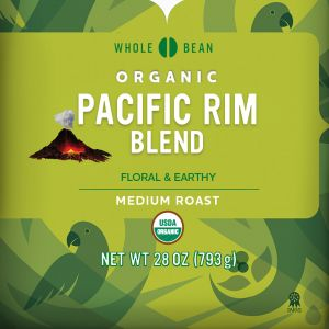 Cameron's Organic Pacific Rim Whole Bean Coffee