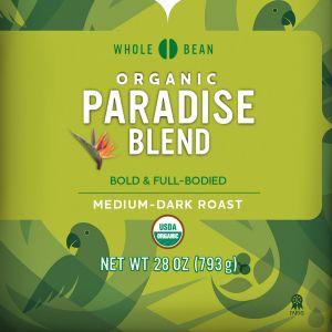 Cameron's Organic Paradise Whole Bean Coffee
