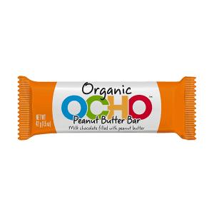 Ocho Organic Peanut Butter Bar