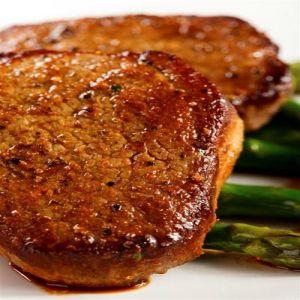 Organic Pork Chop Boneless 2/10oz.
