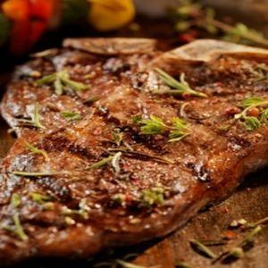 Organic Beef Porterhouse Bone In (1#)