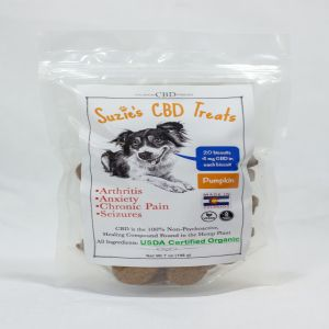 Suzie's CBD Pumpkin Treats (7oz Bag)