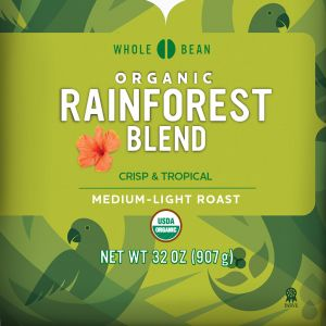 Cameron's Organic Rainforest Blend Whole Bean Coffee