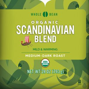 Cameron's Organic Scandinavian Blend Whole Bean Coffee