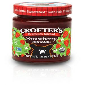 Organic Strawberry Premium Spread (10oz Jar)
