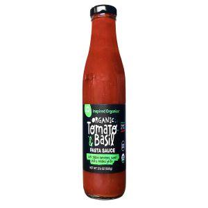 Inspired Organics Organic Tomato & Basil Pasta Sauce