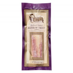 Echo Falls Hardwood Smoked Rainbow Trout 4oz Fillet