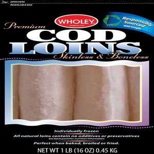 Wholey Premium Cod Loins