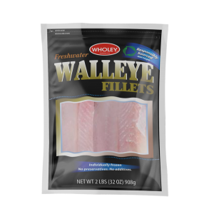 Wholey Freshwater Walleye Fillets