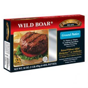 Wild Boar Patties 10-4/4oz.