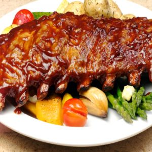 Organic Pork St. Louis Spare Rib (2 Racks)