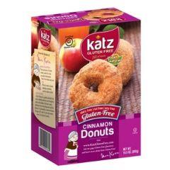 Katz Cinnamon Donuts Frozen (6 per Pkg)