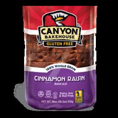 Canyon Bakehouse Cinnamon Raisin Bread Frozen (18oz.)