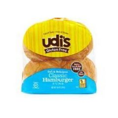 Udi's Classic Hamburger Buns Frozen (4 per Pkg)