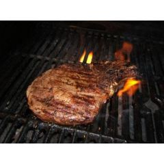 Organic Beef Rib Eye Bone-In 1# (1 lb)