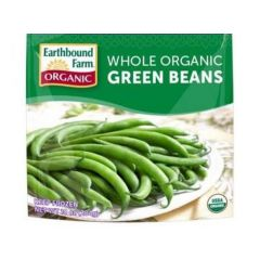 Whole Organic Green Beans Frozen (10oz. Bag)