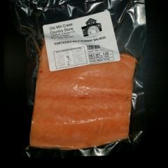 Wild Norwegian Portioned Salmon (1lb. Portioned Pieces)