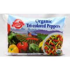 Organic Tri-Colored Peppers (10oz Bag)