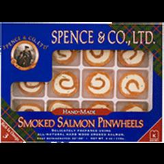 Spence & Co. Wild Smoked Salmon Pinwheels (4oz. box)