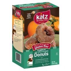 Katz Pumpkin Pie Spice Donuts Frozen (6 per Pkg)