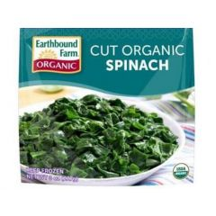 Cut Organic Spinach Frozen (8oz Bag)