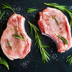 Organic Center Cut Pork Chops Bone-In