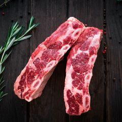 Buffalo Short Ribs 1pkg/2slabs