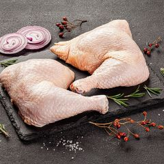 Organic Whole Chicken Leg Quarters