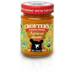 Organic Apricot Premium Spread (10oz Jar)