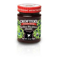 Organic Seedless Blackberry Premium Spread (10oz Jar)