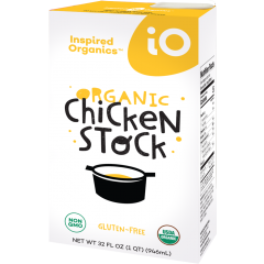 Inspired Organics (iO) Organic Chicken Stock 32oz