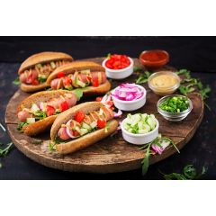 Organic Beef Hot Dogs 6/2oz