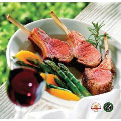 French Cut New Zealand Lamb Rack (14-16oz pkg)
