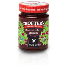 Organic Morello Cherry Premium Spread (10oz Jar)
