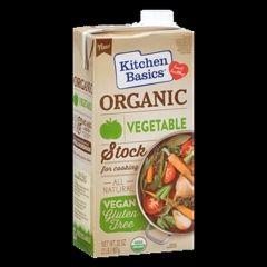 Kitchen Basics Organic Vegetable Stock (32oz Box)
