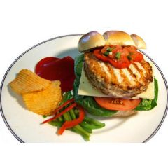 Organic Chicken Patties Unseasoned (4-4oz.)