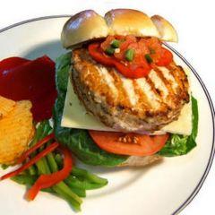 Organic Turkey Burgers Seasoned