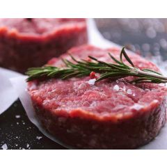 Ostrich Patties 2/4oz (2-4oz. patties)