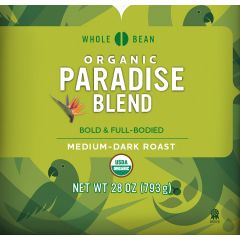 Cameron's Organic Paradise Whole Bean Coffee