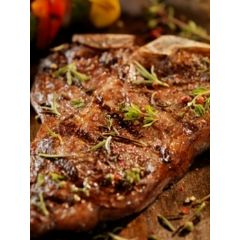 Organic Beef Porterhouse Bone In (1#)