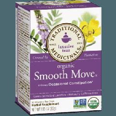 Traditional Medicinals Organic Smooth Move Tea (1 Box of 16 Packets)