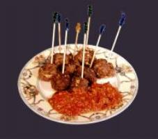 Buffalo hors d'ouvres -meat balls