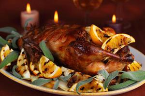 Orange-Honey Glazed Duck